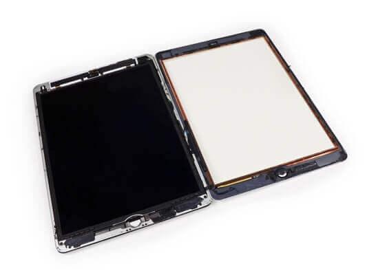 Замена экрана на iPad